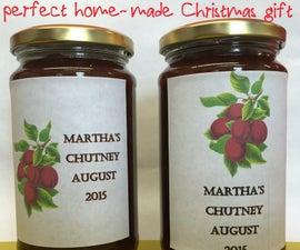 Martha's Chutney