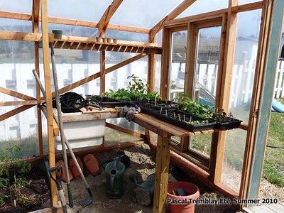 Indoor Greenhouse Design - Recycled Sink