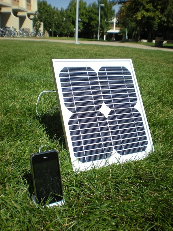 How I Built a Solar IPhone Charger for Under $50.