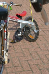 Failed Project: Tow Child's Bicycle