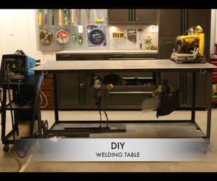 Welding Table for the Garage