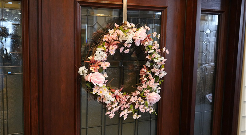 Picture of Show Off Your New Beautiful Wreath