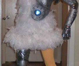 Female Robot Chicken Costume