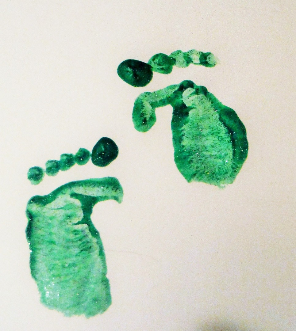 Picture of Make Leprechaun, Tooth Fairy, or Any Small Character's Footprints