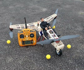 Action Man Tricopter.