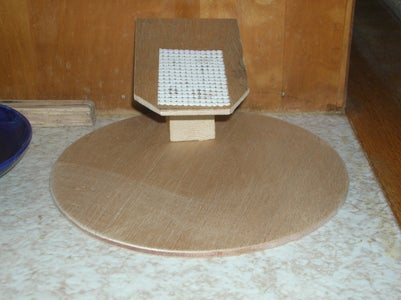 Cone Friendly Pet Eating Dish Stand