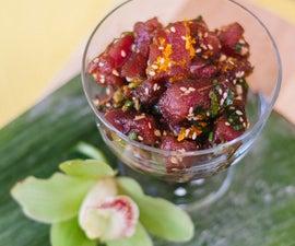 Hawaiian Ahi Poke Recipe