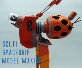 Sci-Fi Spaceship Model Making