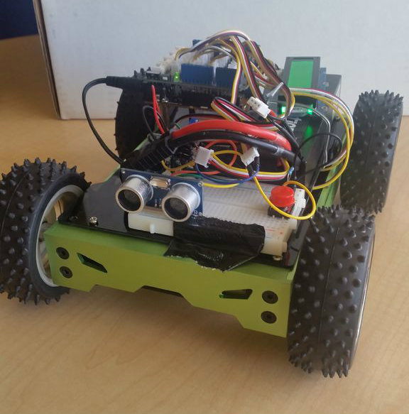 Picture of Arduino 101 BLE Rover Remote Control