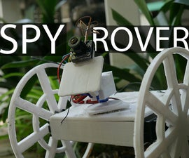 How to Make a Remote Controlled Spy Rover
