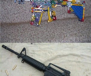 Working Knex M4 Carbine Model (not Full Scale, RBG)