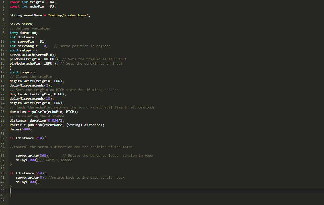 Picture of Particle Build Code