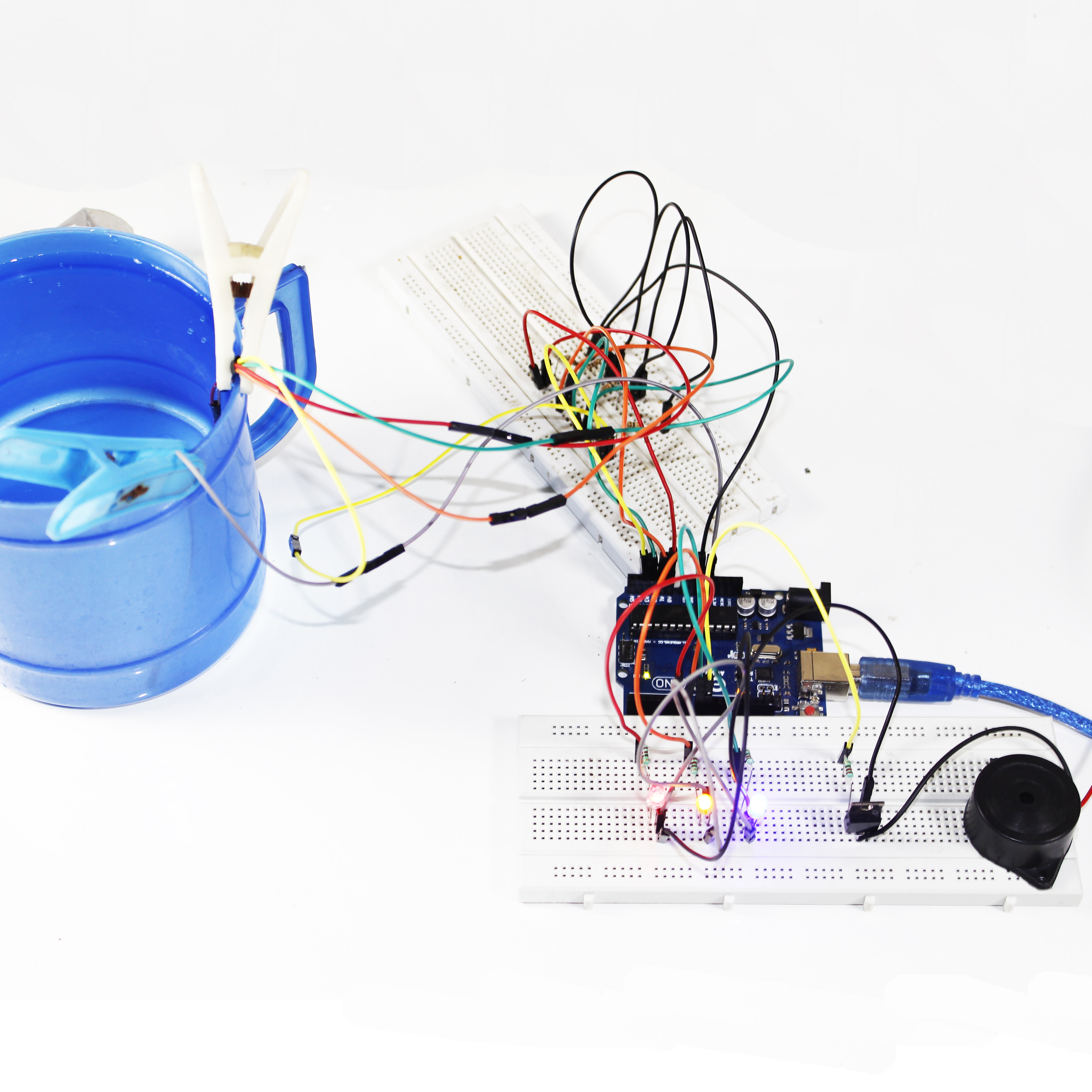 Picture of Water Alarm Using Arduino
