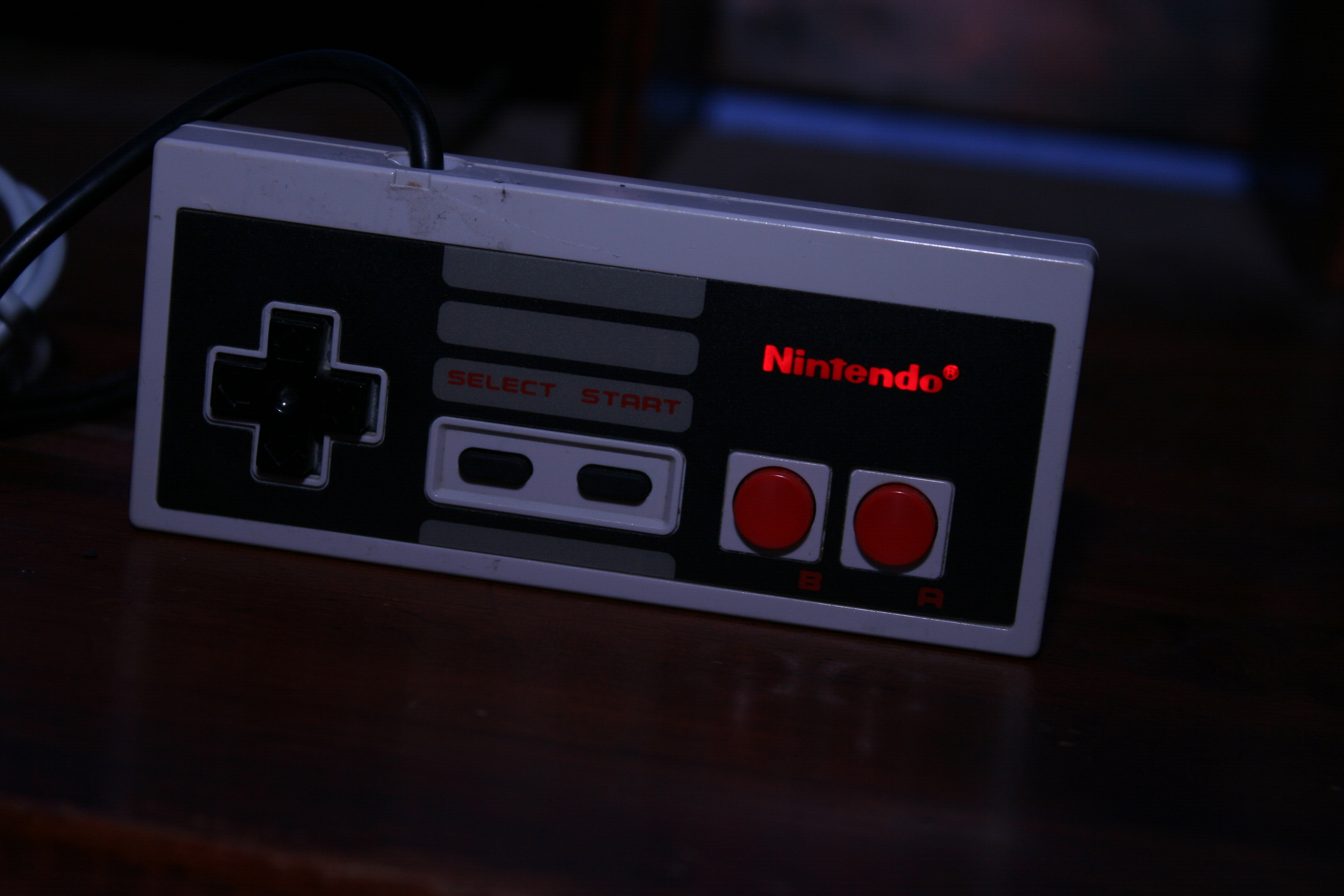 Picture of Nes Controller With 8gb Memory / Leds Lighting Up the Logo
