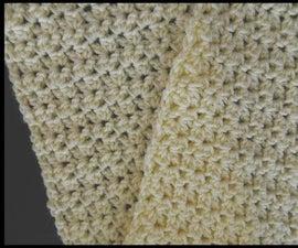 Beautiful Crochet Crunch Shell Stitch Scarf Video