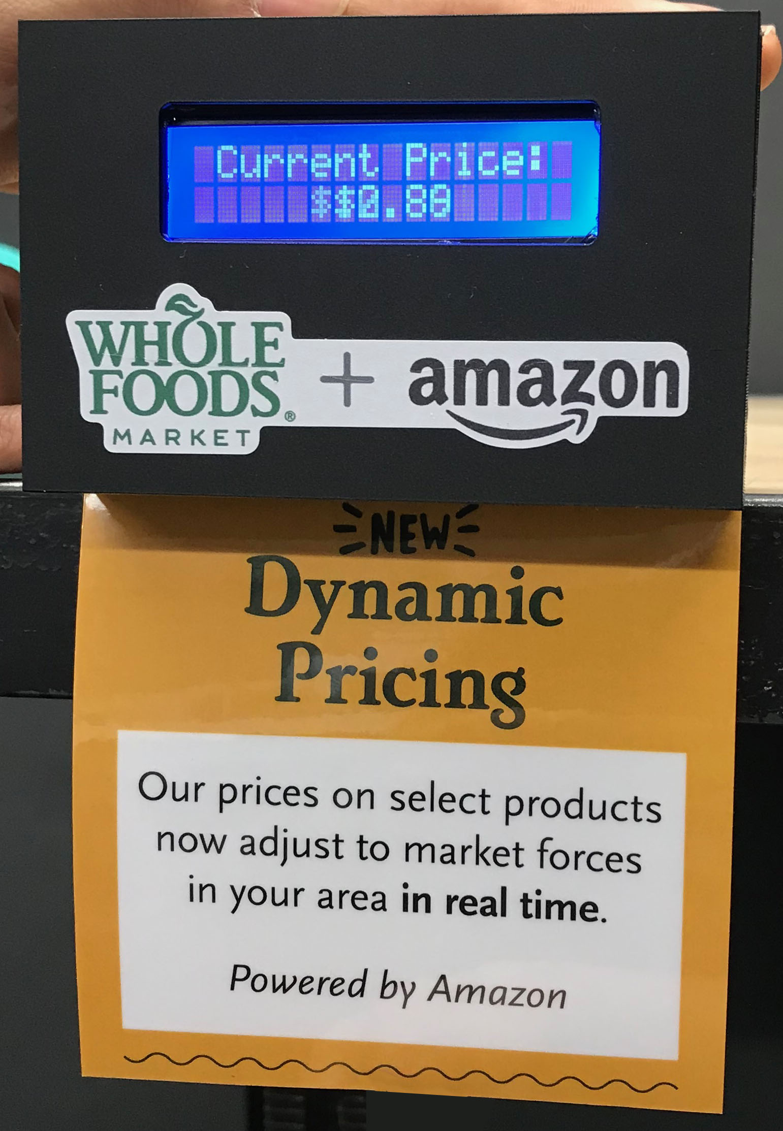 Picture of Fake Dynamic Price Tag