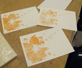 Woodblock Printing with an Epilog Mini/Helix Co2 Laser Cutter