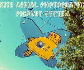 Kite Aerial Photography Picavet System - Fun, Simple, and Easy to Build!