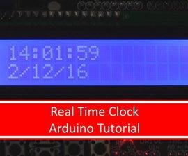 Arduino Real Time Clock Tutorial