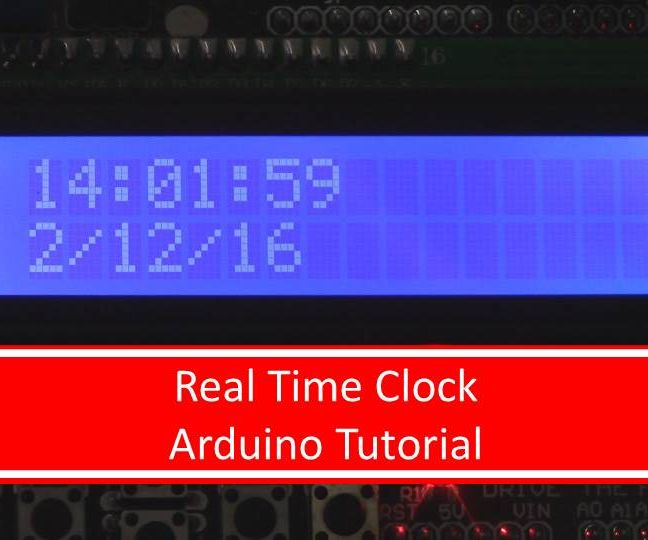 Arduino Real Time Clock Tutorial