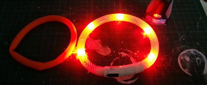 Finished LED Collar