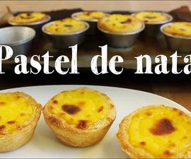 Pastel de nata Recipe   Portuguese custard pastry cup