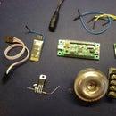 SPLat controlled Bluetooth IR room alarm system