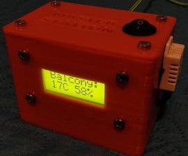 Arduino Based Wireless (RF) Weather Station Network