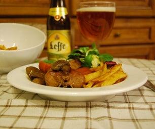 Slow Cooked Belgian Beer Rabbit Stew