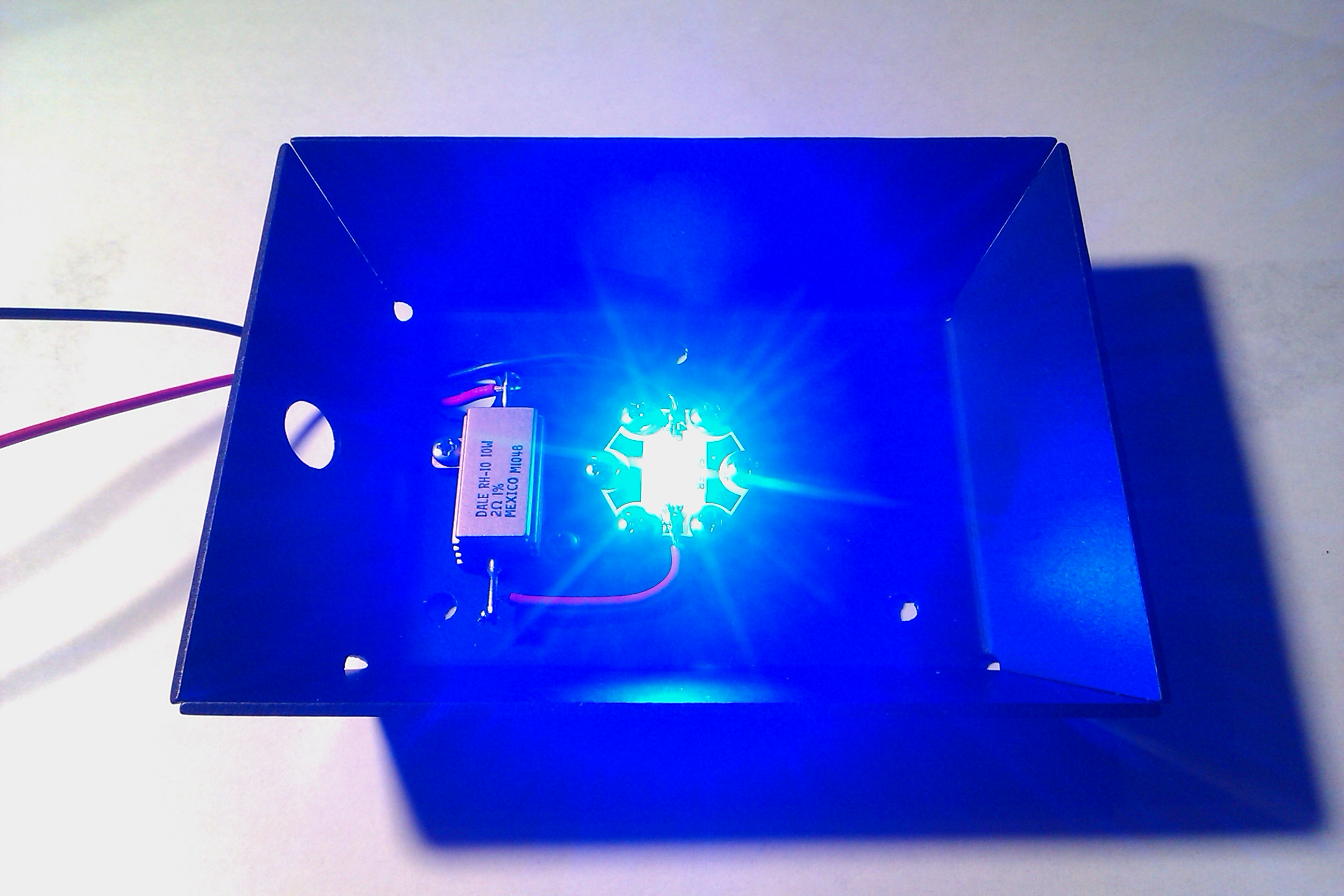 Picture of Extremely Simple 5V Ultrabright LED Light
