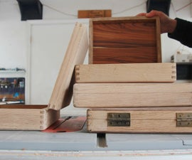 Making Wooden Boxes With Box Joints
