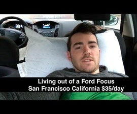 Living out of a 2016 Ford Focus In San Francisco for 5 Days $135