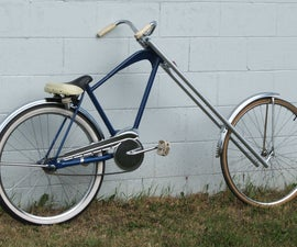 Atomic Zombie's Granny's Nightmare bicycle chopper