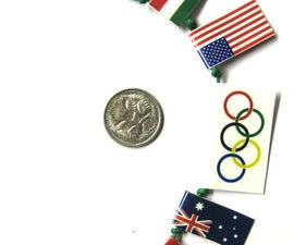 Pocket sized Olympic Bunting (Flags)