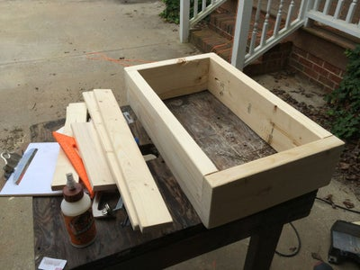 Pocket Holes and Base Frame Assembly