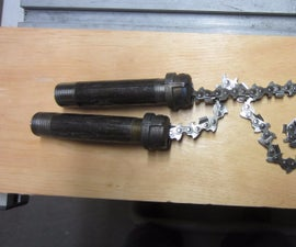 Pipe-Handle Manual Chainsaw