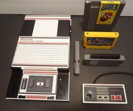Nintendo (NES) Side Loader Build Using Game Genie Connector.