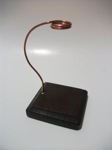 Copper Wire Stand Assembly...