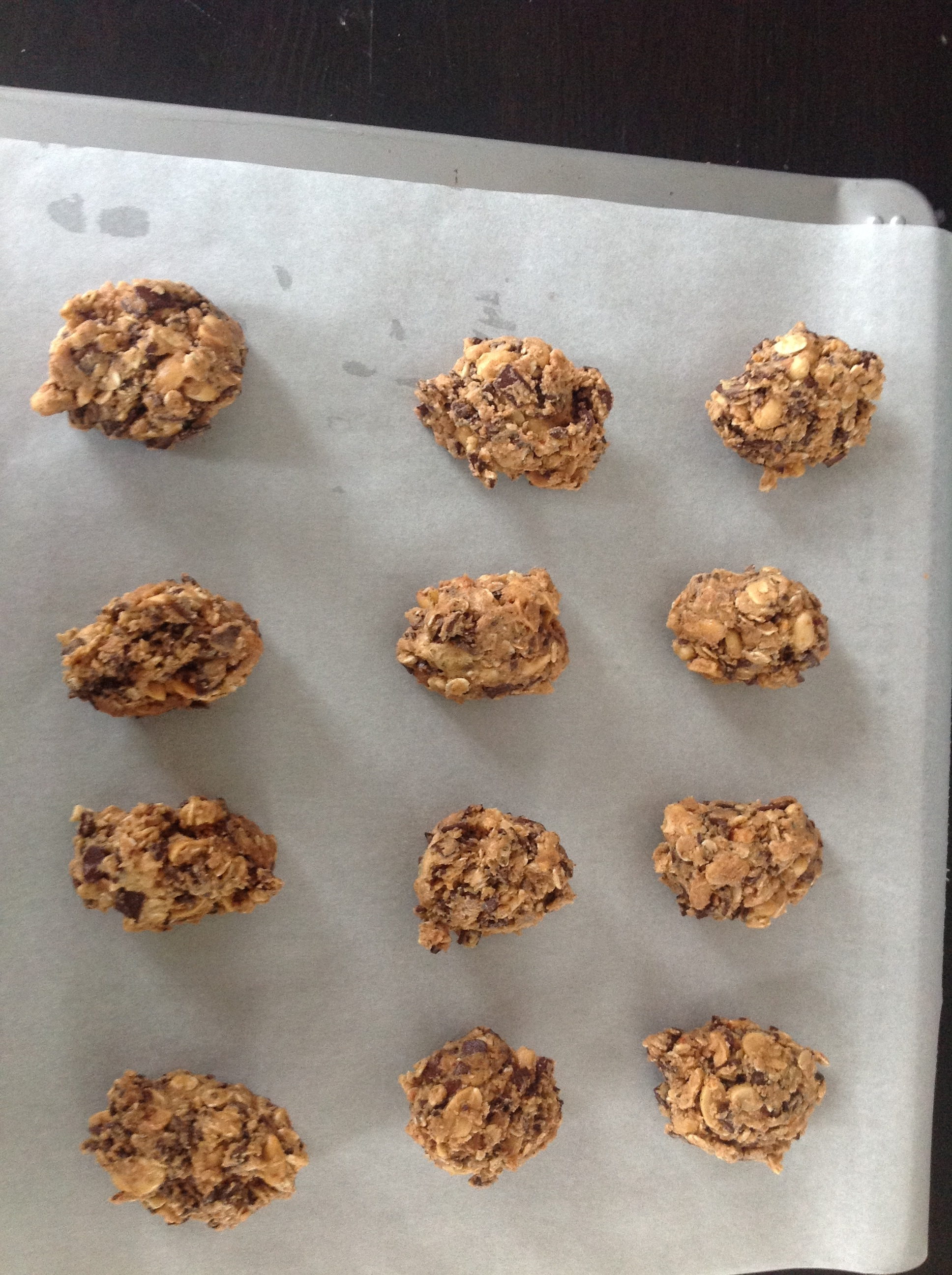 Picture of Preheat the Oven to 175C (350F) and Form the Cookies