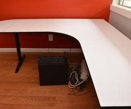 Restoring an Old Desk with a New Laminate Surface