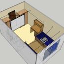 Dorm Room Mods: INGU door control and Projector theatre