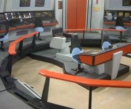 Star Trek Enterprise Bridge Playset