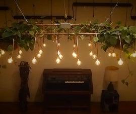 Sound Responsive Light Bulb Displays + Stranger Things...
