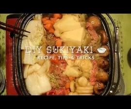 Sukiyaki (Japanese Hot Pot)
