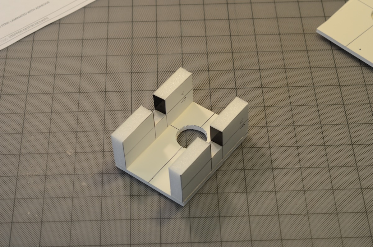 Picture of Prepare the Motor Mounts
