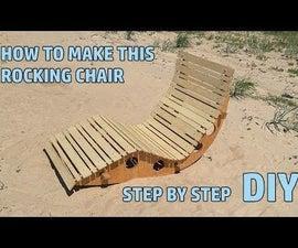 Rocking Chair for Garden