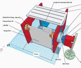An IoT-powered Desktop Model of a Garage Door Opener