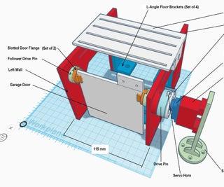 An IoT-powered Desktop Garage Door Opener