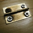 Creating starter holes for small hinges