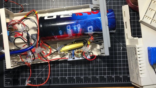 Combine All Wiring and Barrier Blocks According to the Schematic.